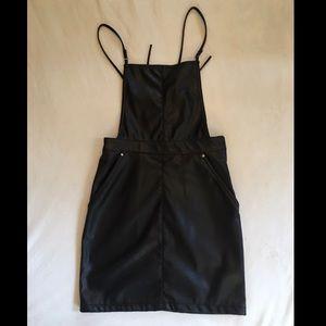H&M Black Overalls Skirt